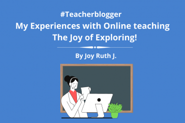 My Experiences with Online Teaching